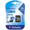 Verbatim 16GB MicroSDHC Memory Card UHS-1 Class 10