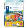 Staedtler Noris Aquarell Watercolour Pencils Assorted Pack of 36
