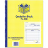 SPIRAX 502 QUOTATION BOOK Quarto