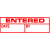 XSTAMPER STAMP CX-BN 1534 ENTERED/DATE/BY RED