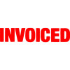 XSTAMPER STAMP CX-BN 1532 INVOICED RED