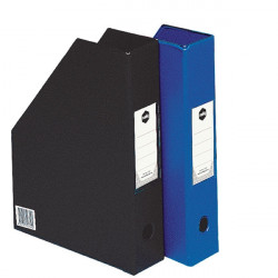 MARBIG PVC MAGAZINE HOLDER A4 Black