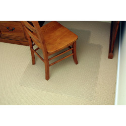 Marbig Economy Chairmat Large 114x134cm Clear