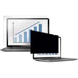 FELLOWES PRIVACY FILTER Black Out 19Inch W