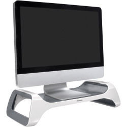 Fellowes Ispire Monitor Lift Supports Monitors Up To 11Kg White Grey