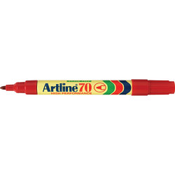 ARTLINE 70 PERMANENT MARKER Bullet Red