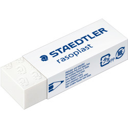 STAEDTLER RASOPLAST ERASERS Lrg 65x23x13mm For Pencil