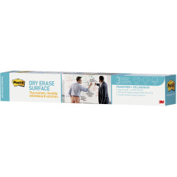 POST IT DRY ERASE SURFACE DEF3X2 900x600mm Roll