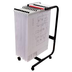 Planhorse Mobile 1000 Trolley A1, 1000 Sheet Capacity