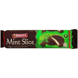 ARNOTTS CHOC MINT SLICE Biscuits 200gm