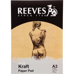 Reeves Kraft Pad A3 110gsm 50 Sheet
