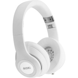 Moki Katana Bluetooth Headphones White