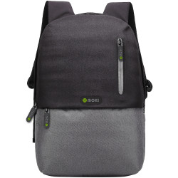 Mokey Odyssey BackPack Fits up to 15.6&quote; Laptop Black / Grey